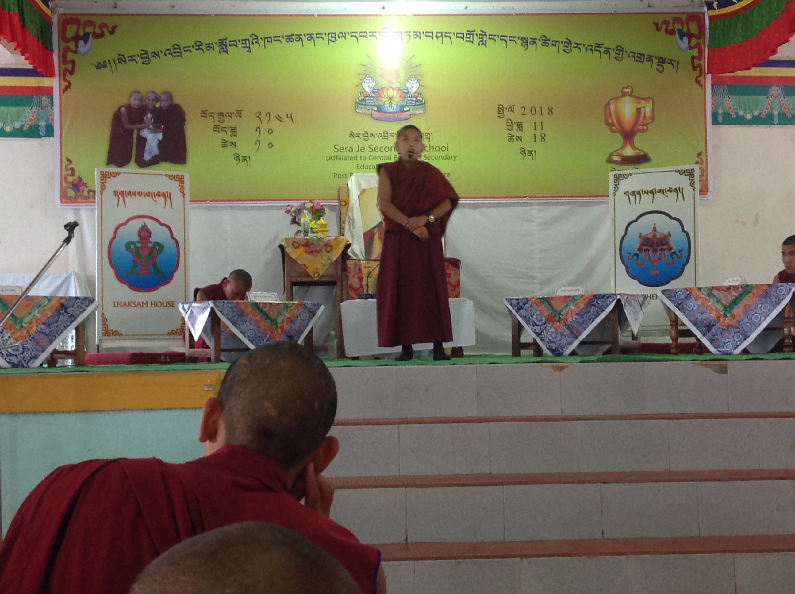The Inter School Tibetan Debate and Poem Recitation Competition