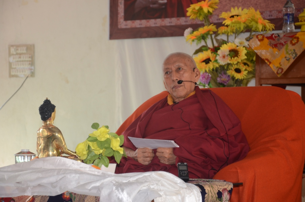 Speech by H.E.Kybje Samdhong Rinpoche