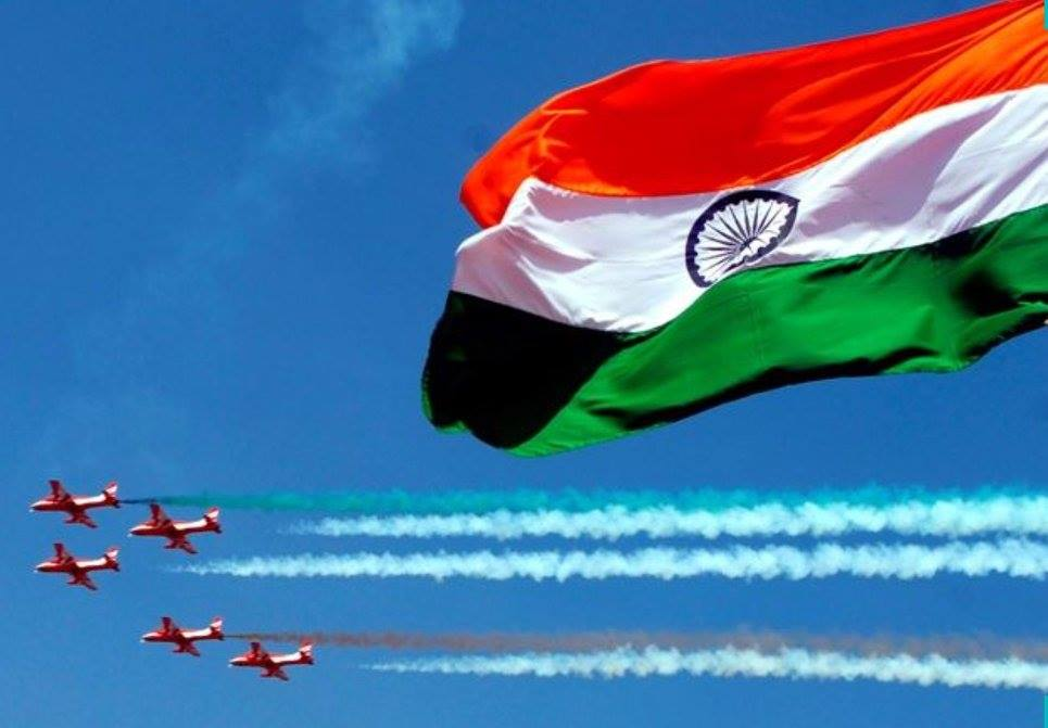 Celebrating the 72nd Independence Day.