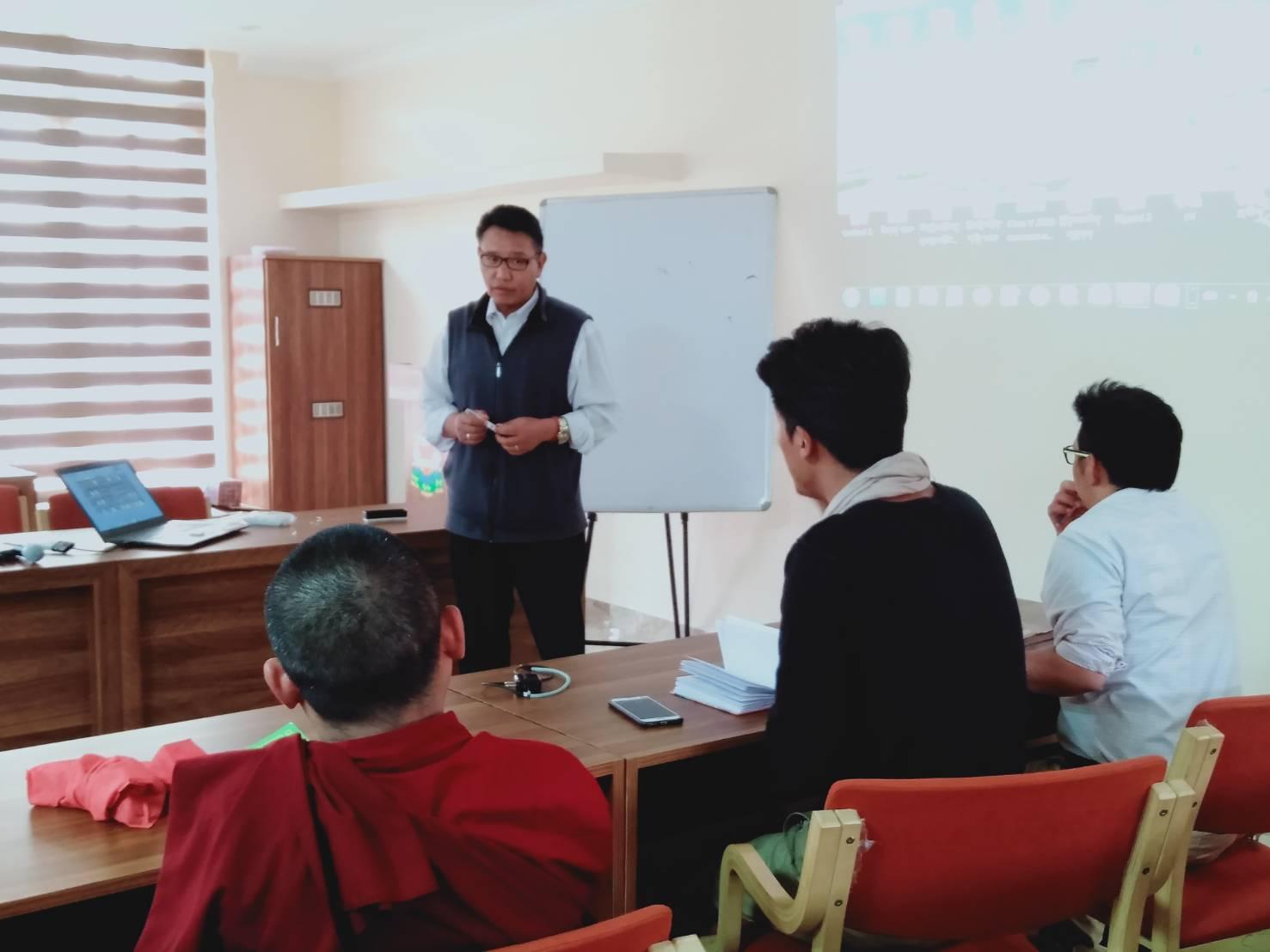 Maths and Tibetan Language Teachers; during Inservice Training.